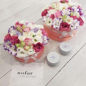 מגוון קופסאות פרחים לבחירתך