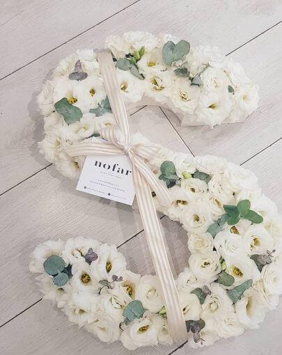 אותיות פרחים במחירים מיוחדים